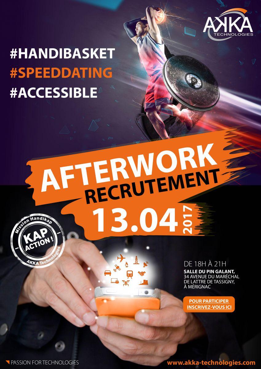 afterwork handicap Akka technologies