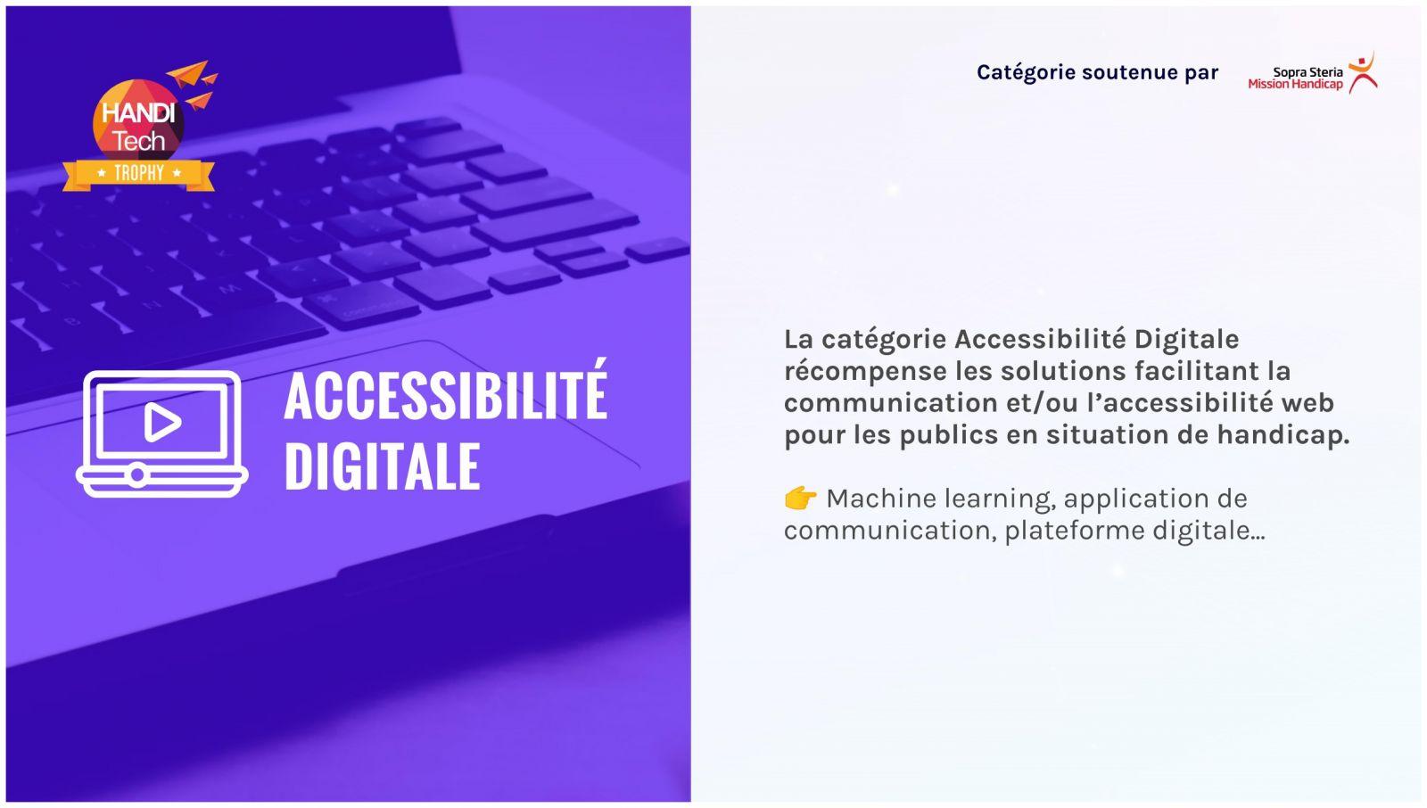 catégorie accessibilité digitale