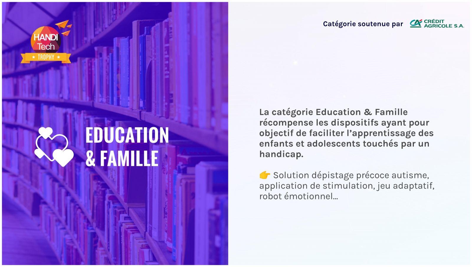catégorie education et famille