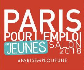 PARIS POUR L'EMPLOI DES JEUNES rendez-vous le 6 mars 2018 à la Grande Halle de la Villette !